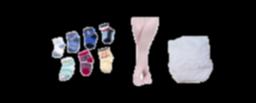 Calcetines, Leotardos y Cubre pañales